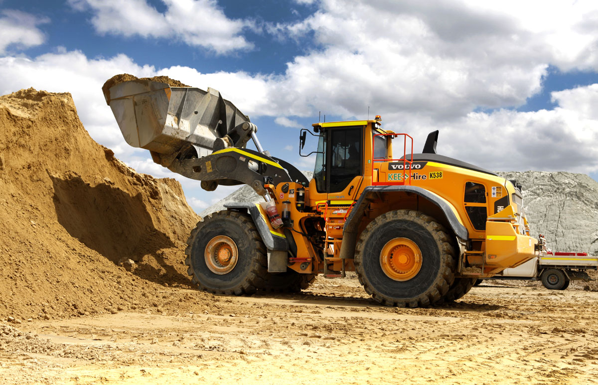 loader for hire Perth