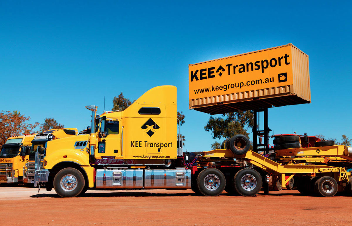 heavy plant transport in Perth